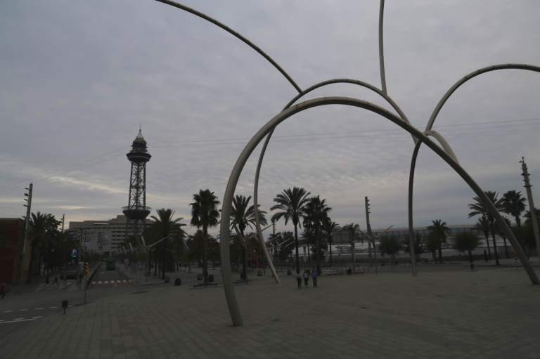Sculpture near the harbor