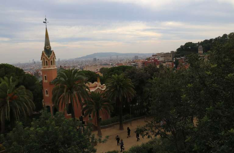 View of Barcelona from the Park Güell
