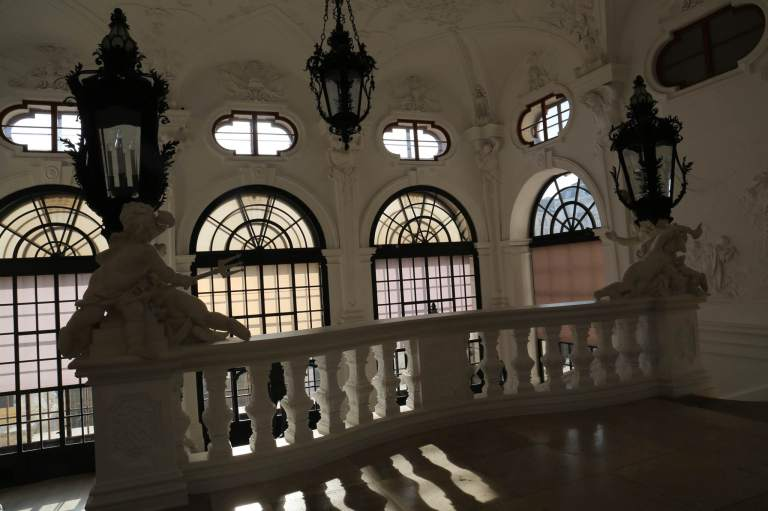 Upper Belvedere staircase