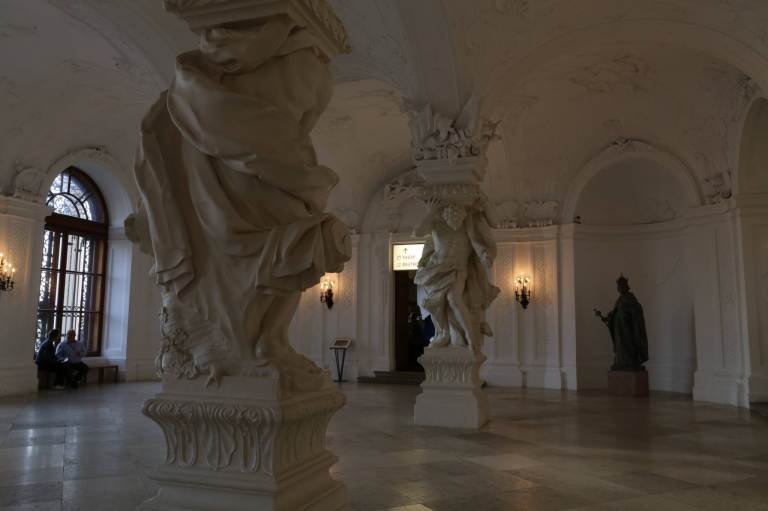 Entryway inside the Upper Belvedere