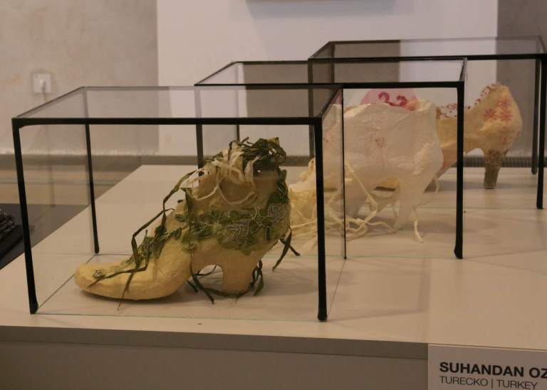 Three shoe designs by Suhandan Ozay Demirkan