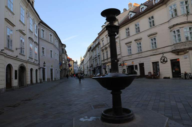 One of the squares in Old Town