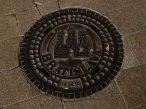 Decorative manhole cover because why not?