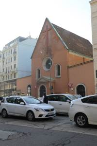 Exterior of the Capuchin Church