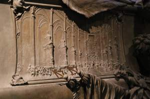 Detail on Maria Theresa's tomb
