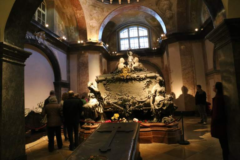 Maria Theresa's tomb - Francis I is in there, too.
