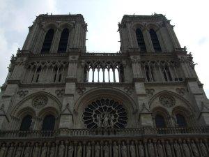 Notre Dame de Paris, taken in April 2009