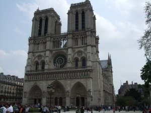 Notre Dame de Paris, taken in April 2009