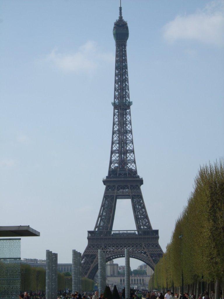 Eiffel Tower, taken in 2009