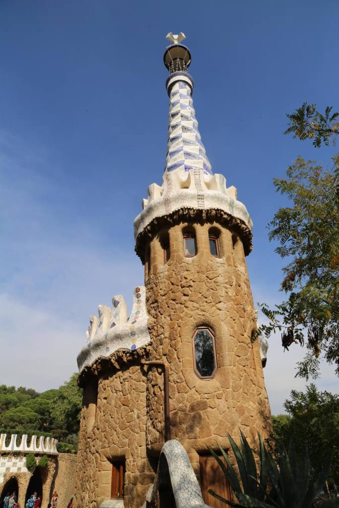 Another detail of Gaudí's home at Park Güell