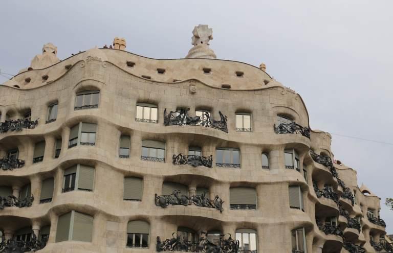 Casa Milá or La Pedrera