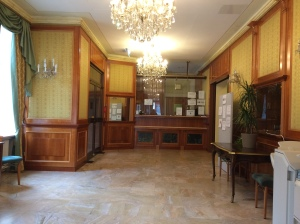 Main lobby and front desk