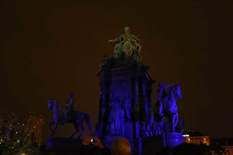 Maria Theresa as part of the Light Show