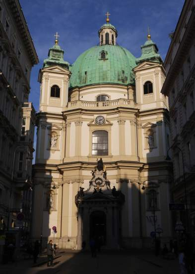 Exterior of Peterskirche