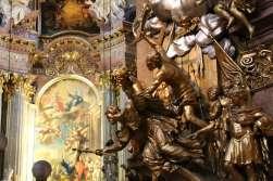Sculpture near the High Altar