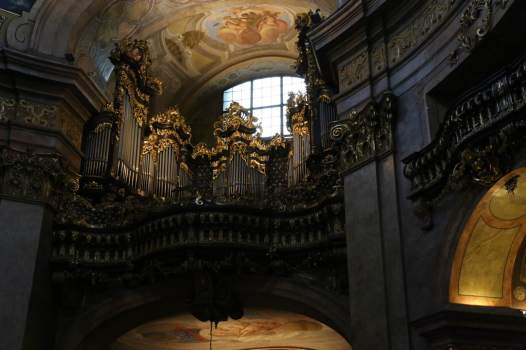 The Organ at Peterskirche