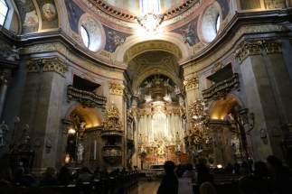 Interior of Peterskirche