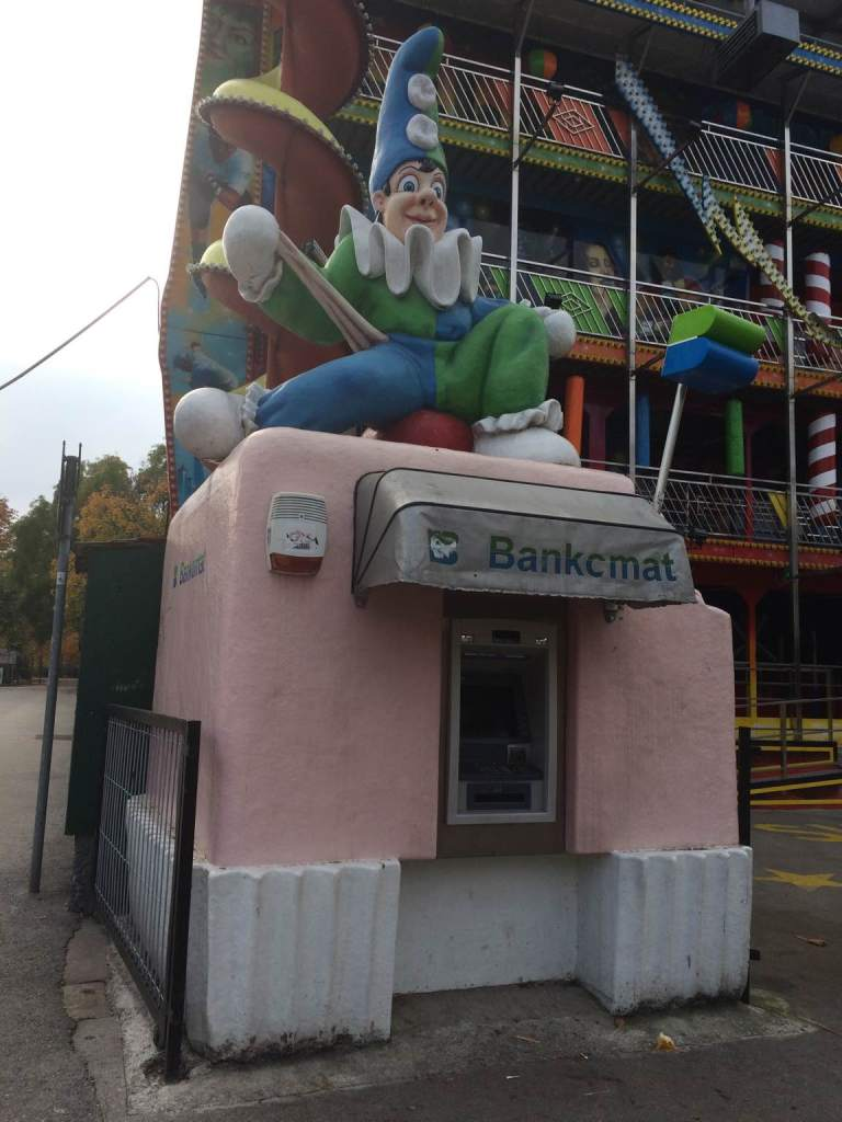 The most terrifying ATM in the world.