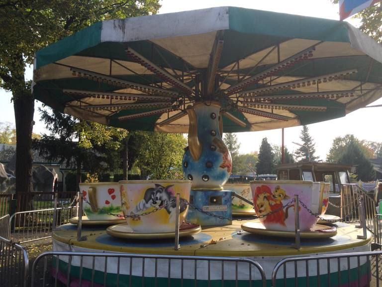 The Prater version of the teacup ride.