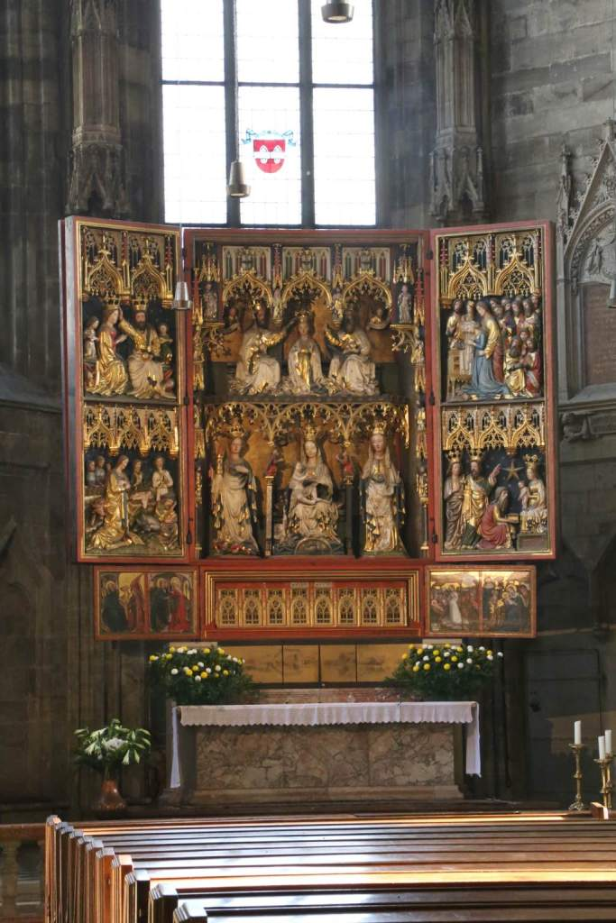 Altar panels in the Stephansdom