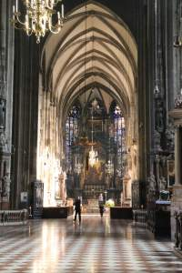 Interior of the Stephansdom