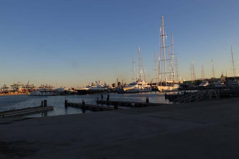 Valencia Harbor