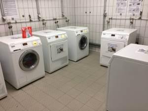 The laundry facilities