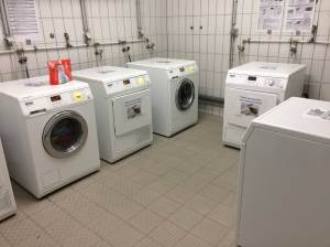 The laundry facilities