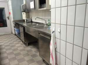 Sinks in the Community Kitchen